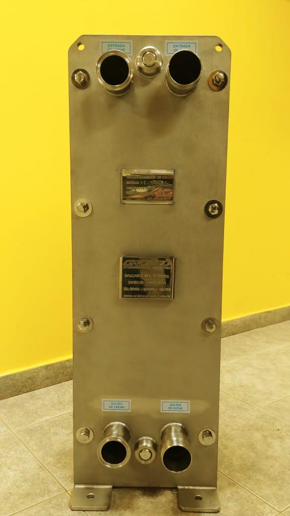 Placa Intercambiadora de Calor de Tipo Industrial - hasta 10.000lts/hs -