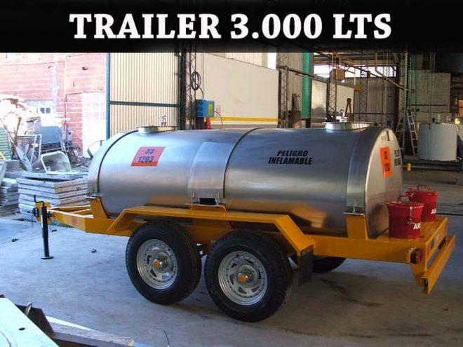 Trailers para transporte de sustancias