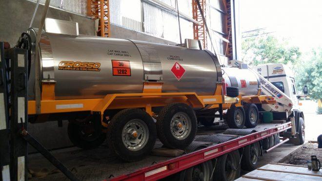 trailer nueva linea cilindrica 4000 lts
