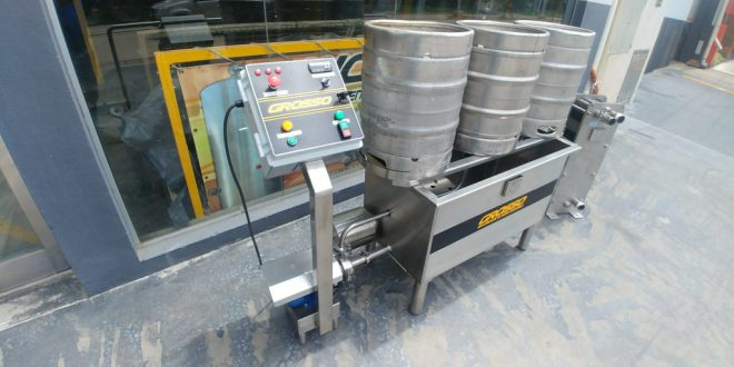 Lavadora de barriles de cerveza automatica (3)