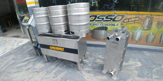 Lavadora de barriles de cerveza automatica (4)