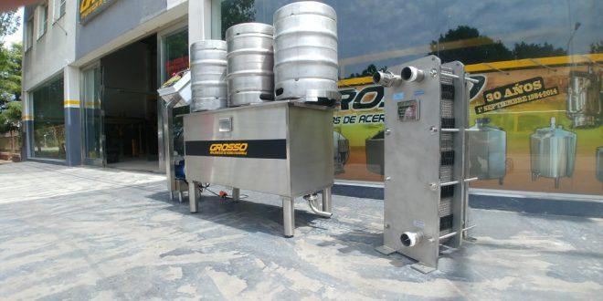 Lavadora de barriles de cerveza automatica (5)