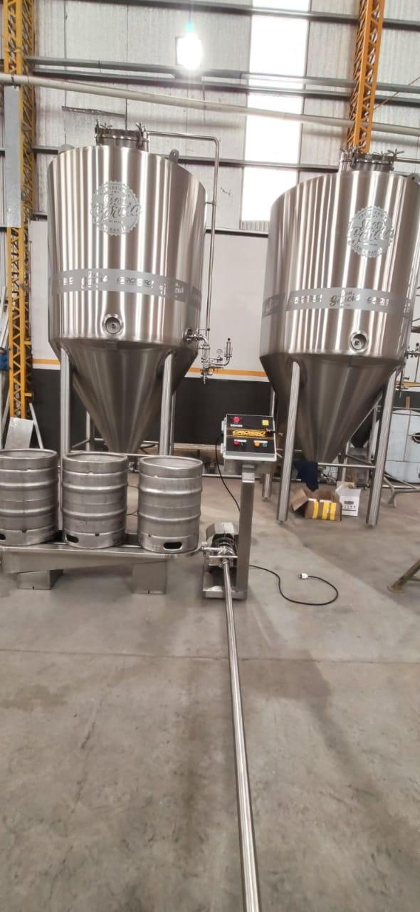 Lavadora y enjuagadora de barriles de cerveza semiautomatica (5)